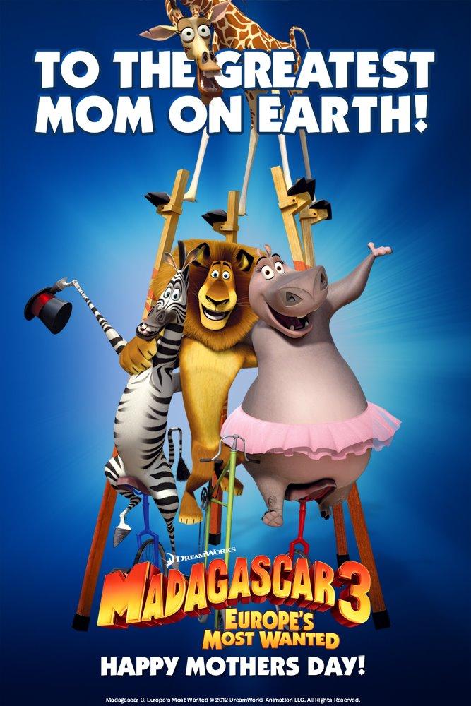 промо-слайды Мадагаскар 3 в 3D Крис Рок, Дэвид Швиммер, Бен Стиллер, Джада Пинкетт Смит,