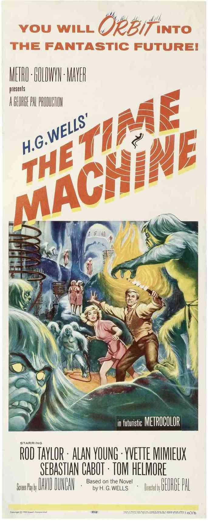 плакат фильма баннер Машина времени