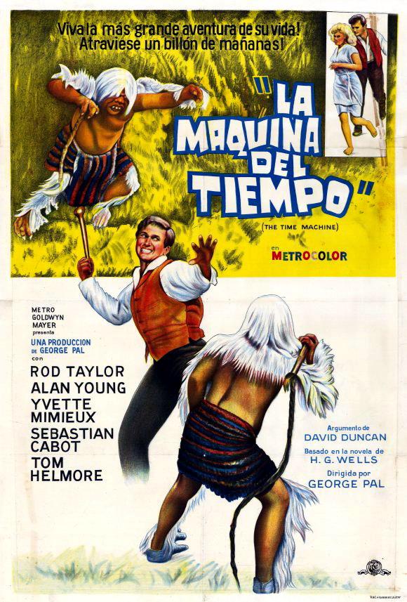 плакат фильма Машина времени