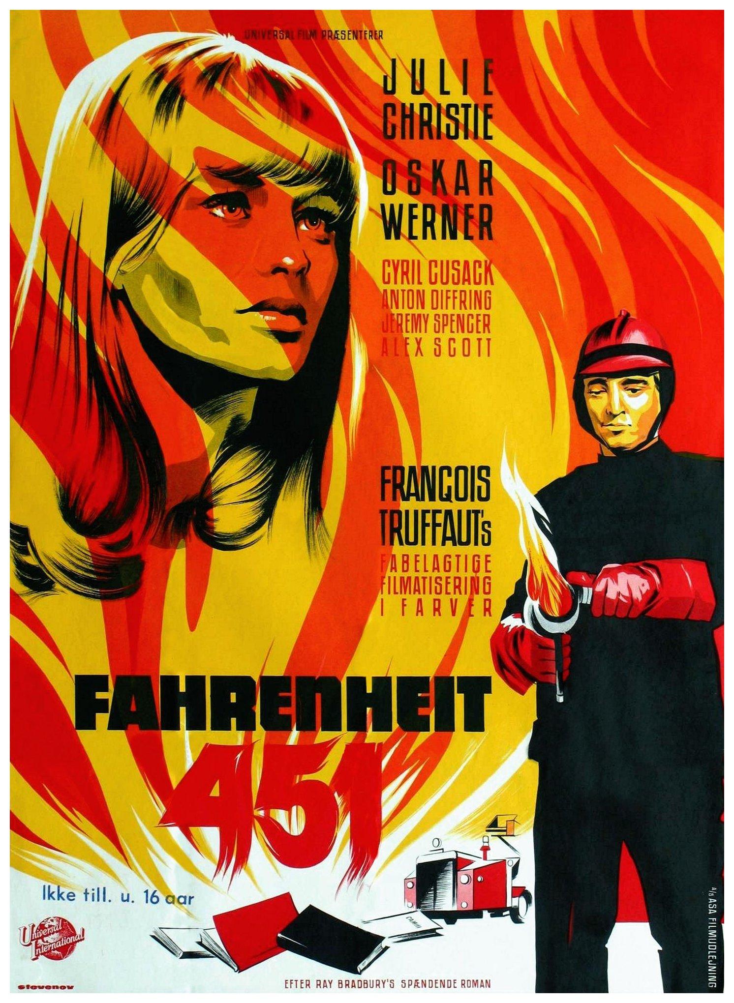 Filmz.ru 451 градус по Фаренгейту Плакаты (id 121567 Полный размер)