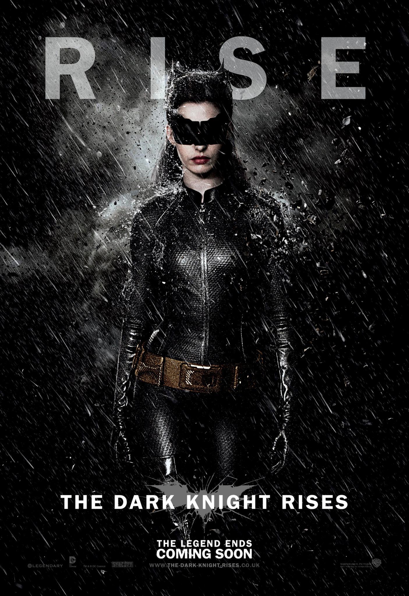 плакат фильма характер-постер Темный рыцарь: Возрождение легенды