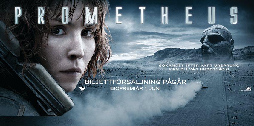 плакат фильма характер-постер баннер Прометей