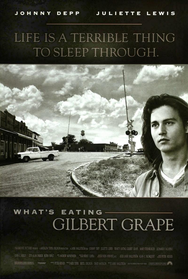 плакат фильма постер Что гложет Гилберта Грэйпа