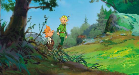 кадры из фильма Ролли и Эльф: Невероятные приключения