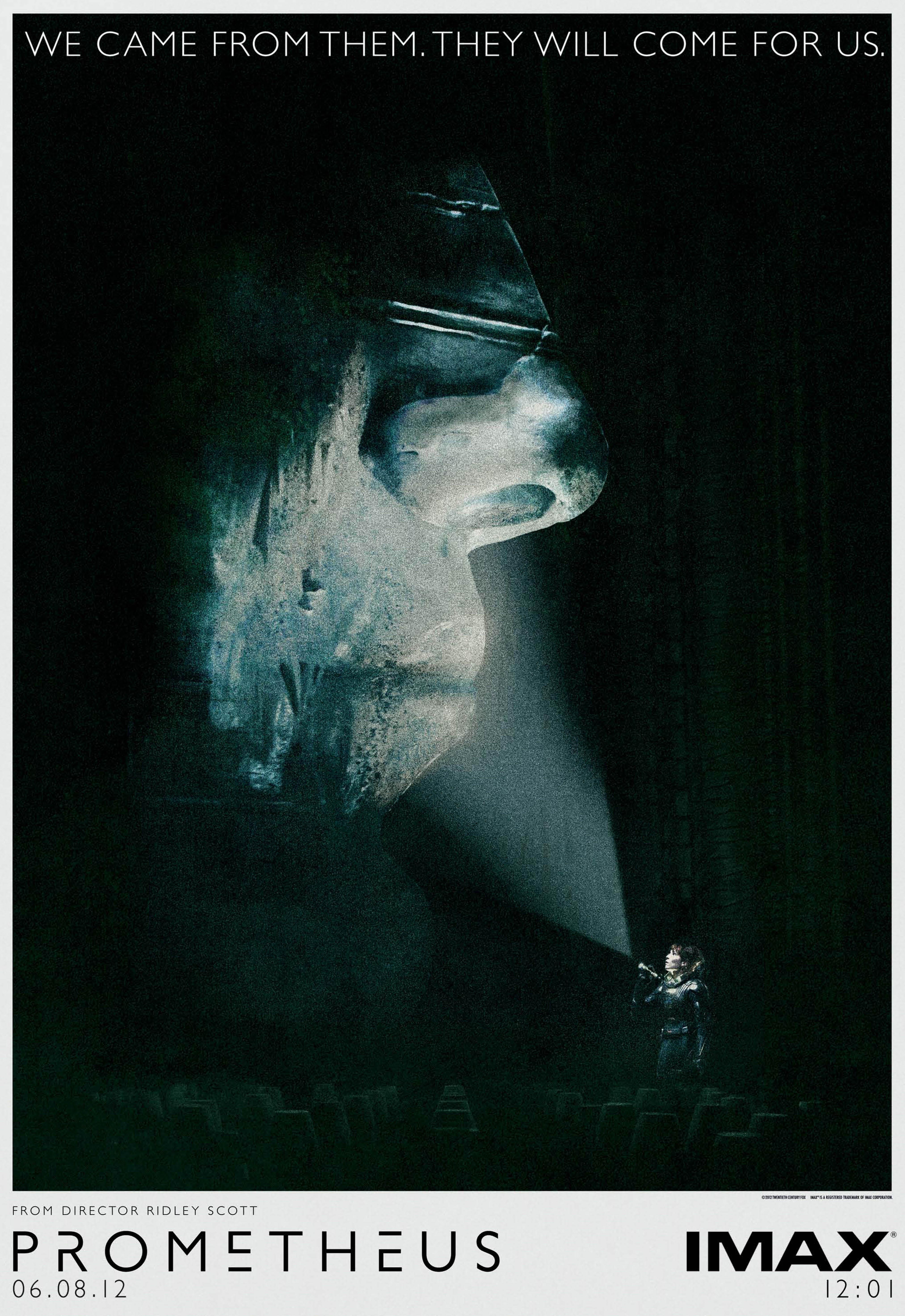 плакат фильма IMAX-постер Прометей