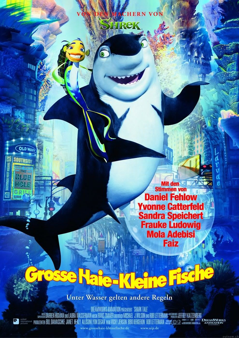 плакат фильма постер Подводная братва
