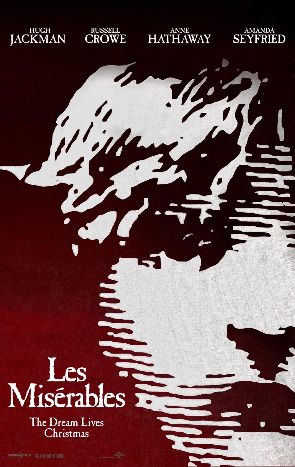 плакат фильма тизер Отверженные
