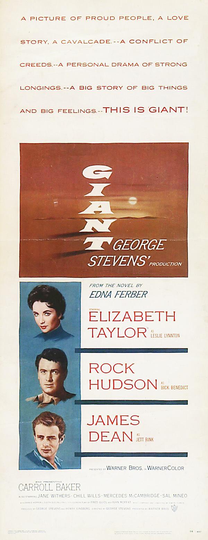 плакат фильма постер Гигант