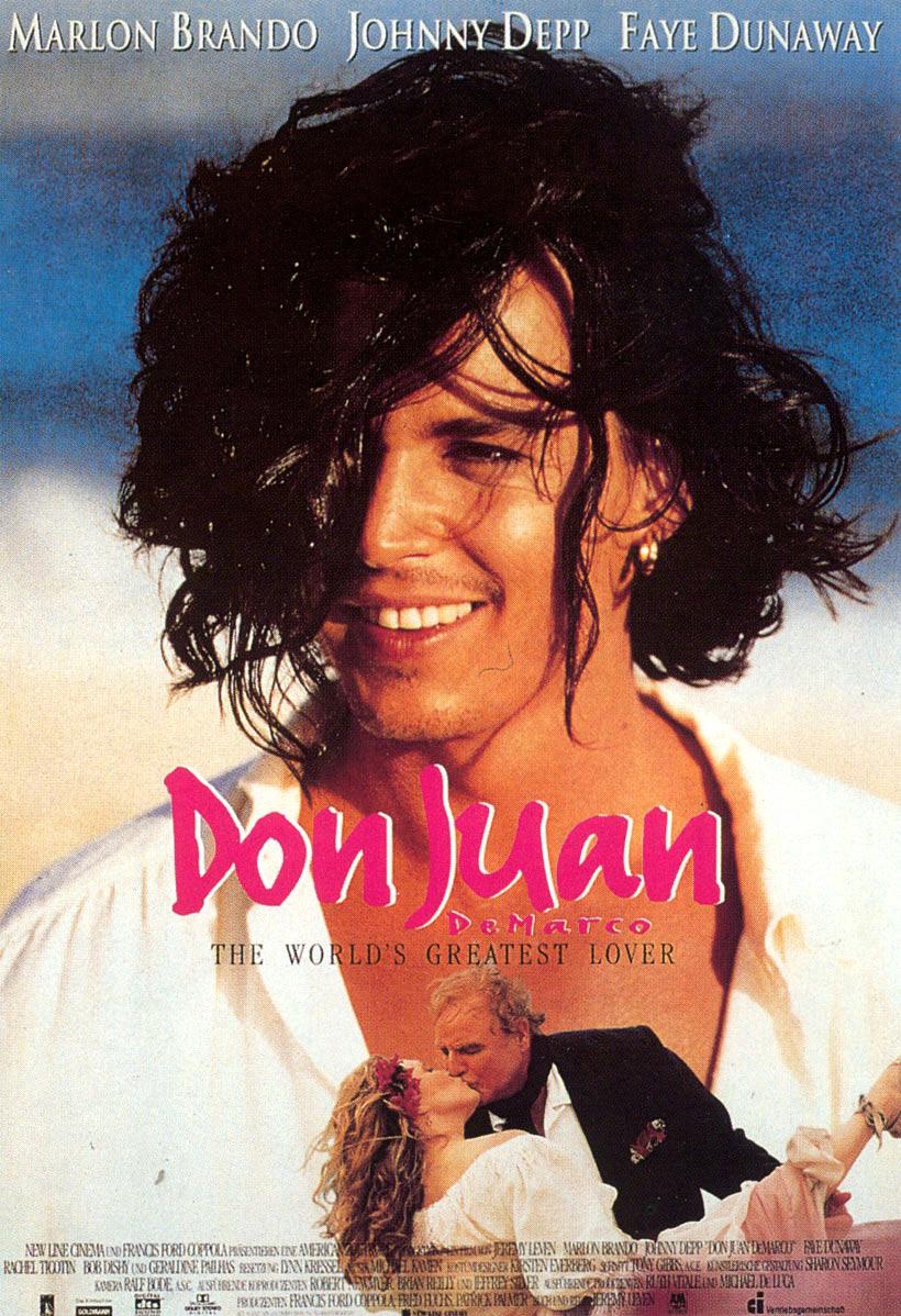 плакат фильма постер Дон Жуан де Марко