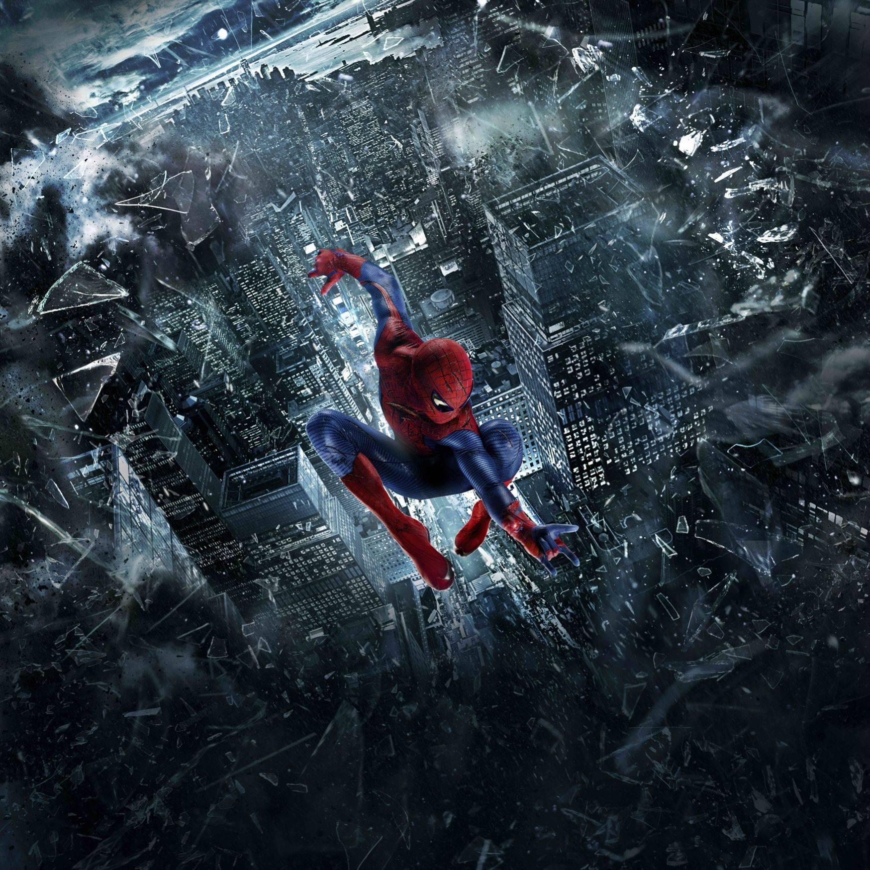 плакат фильма постер textless Новый Человек-паук