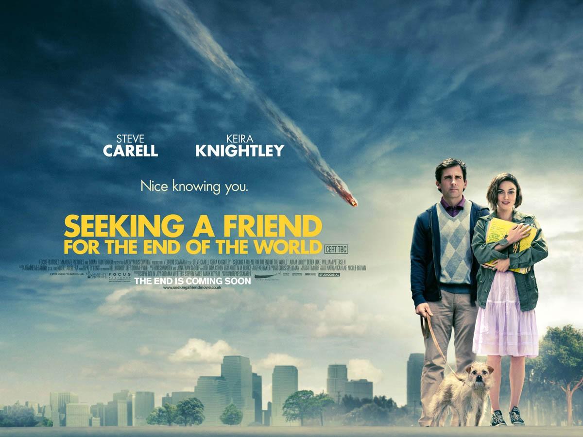 плакат фильма биллборды Ищу друга на конец света