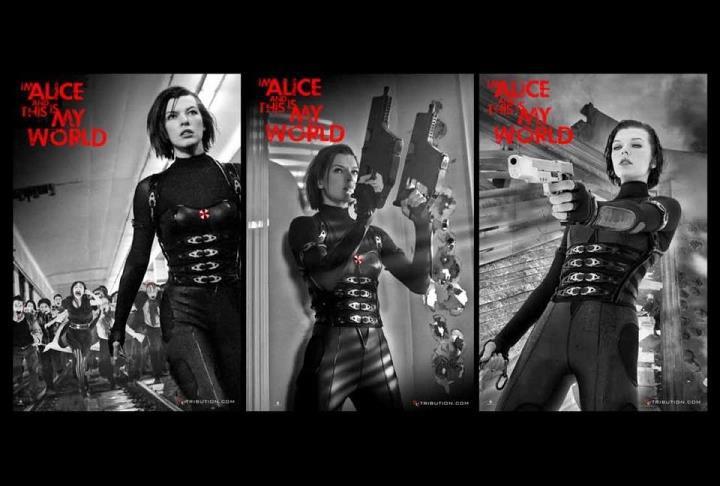 плакат фильма баннер Обитель зла: Возмездие