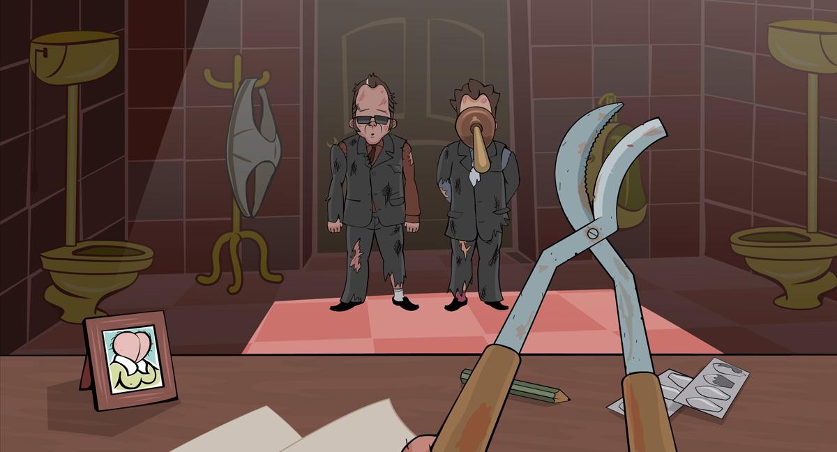 кадры из фильма Чужая куча