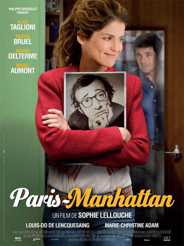 плакат фильма постер Париж-Манхэттен