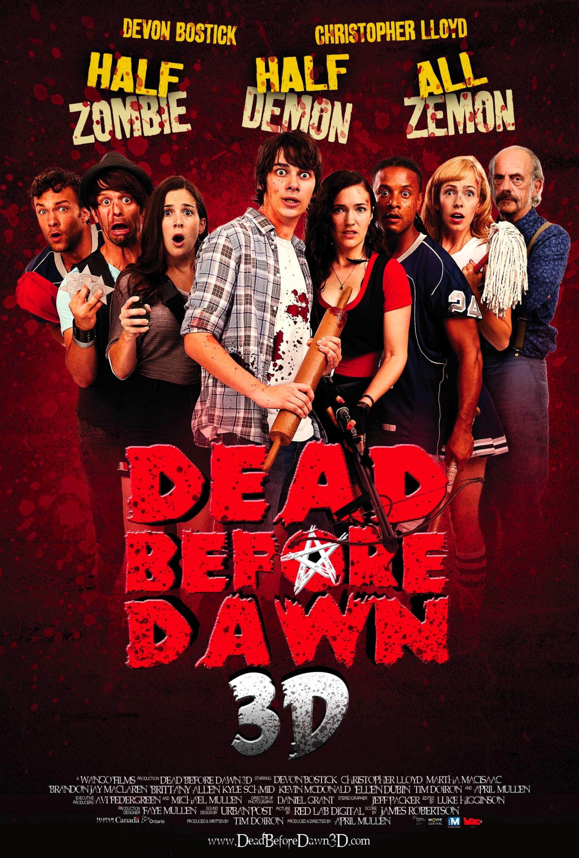 плакат фильма постер Самый страшный фильм 3D