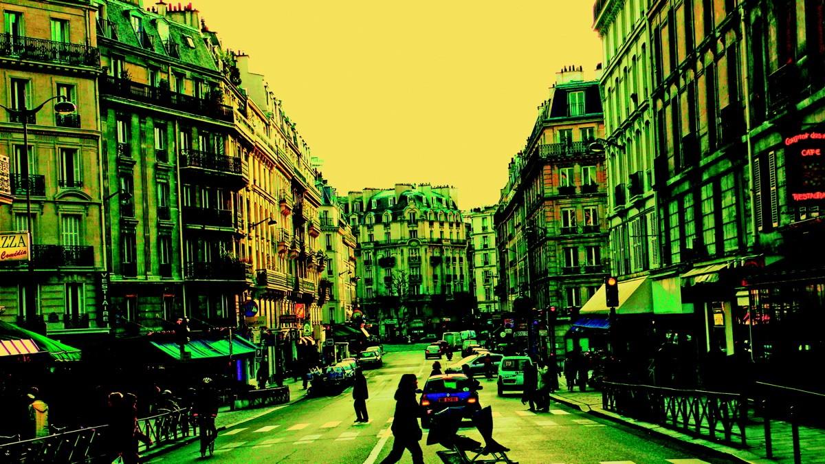 промо-слайды Два дня в Париже