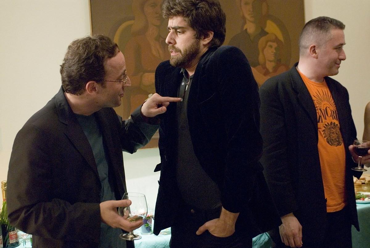 кадры из фильма Два дня в Париже Александр Наон, Адам Голдберг,