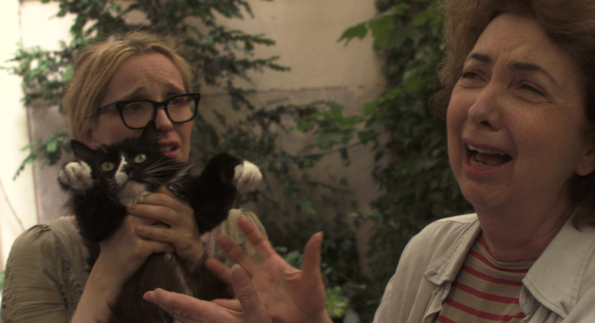 кадры из фильма Два дня в Париже Жюли Дельпи, Мари Пийе,