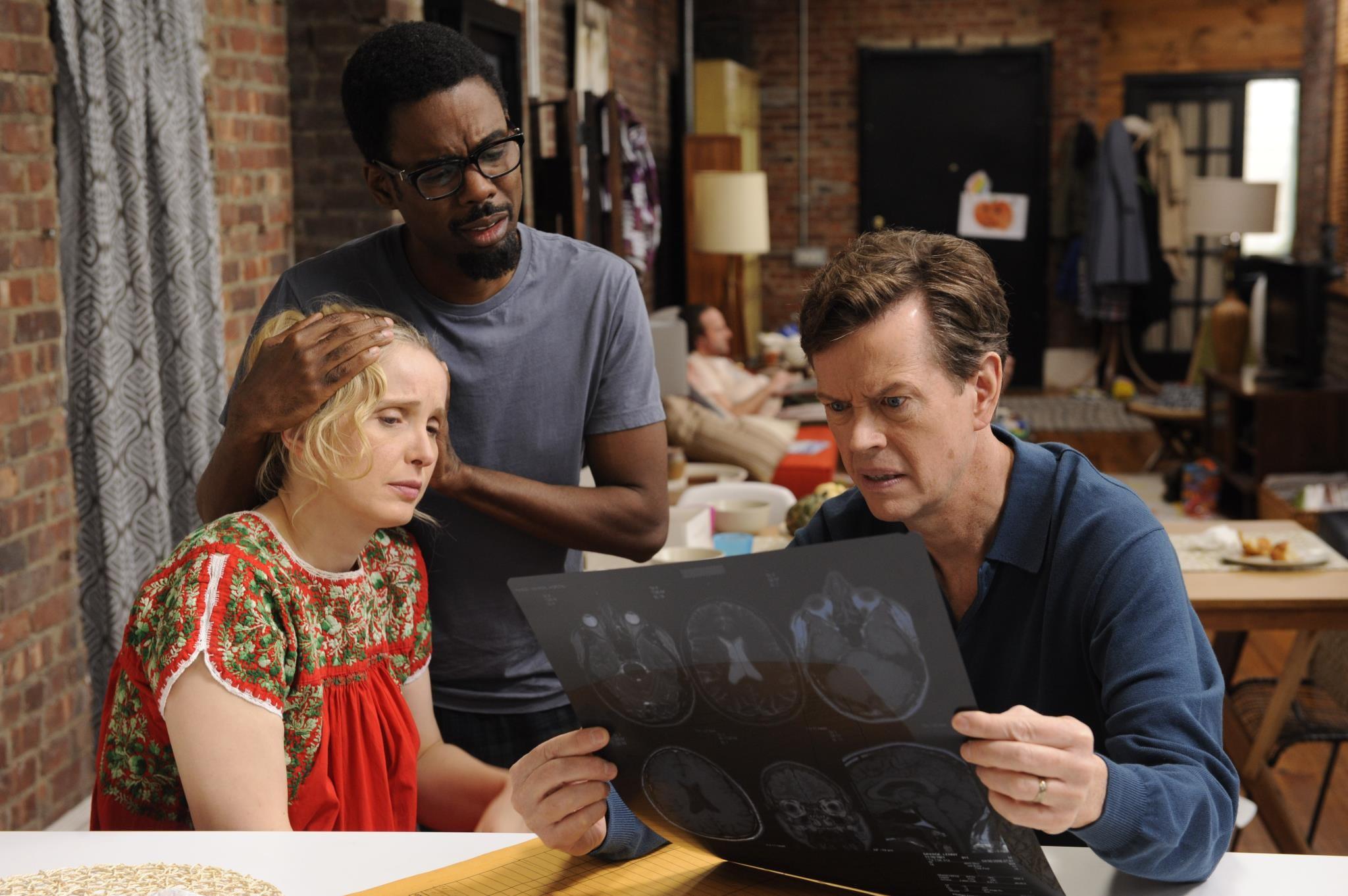 кадры из фильма 2 дня в Нью-Йорке Жюли Дельпи, Крис Рок, Дилан Бейкер,