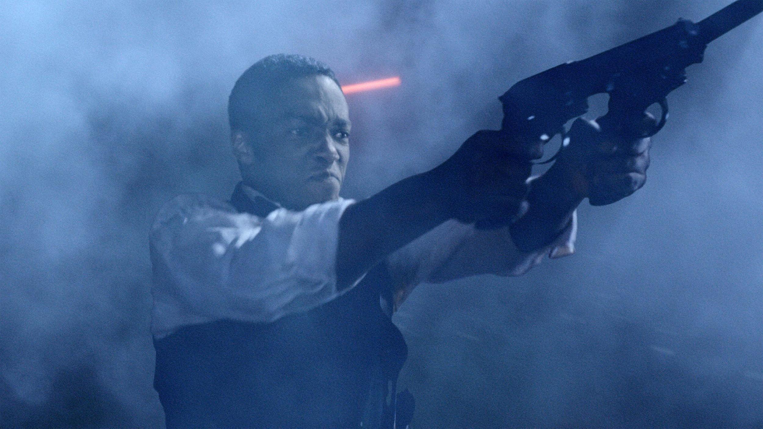 кадры из фильма Президент Линкольн: Охотник на вампиров Энтони Мэкки,