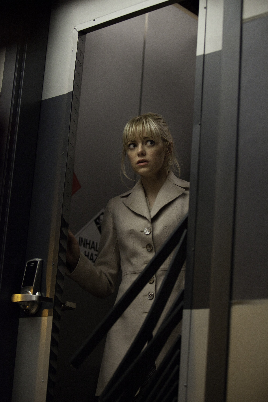 кадры из фильма Новый Человек-паук Эмма Стоун,