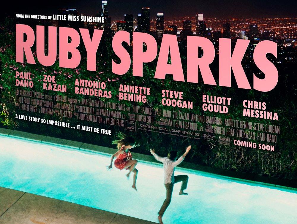 плакат фильма биллборды Руби Спаркс