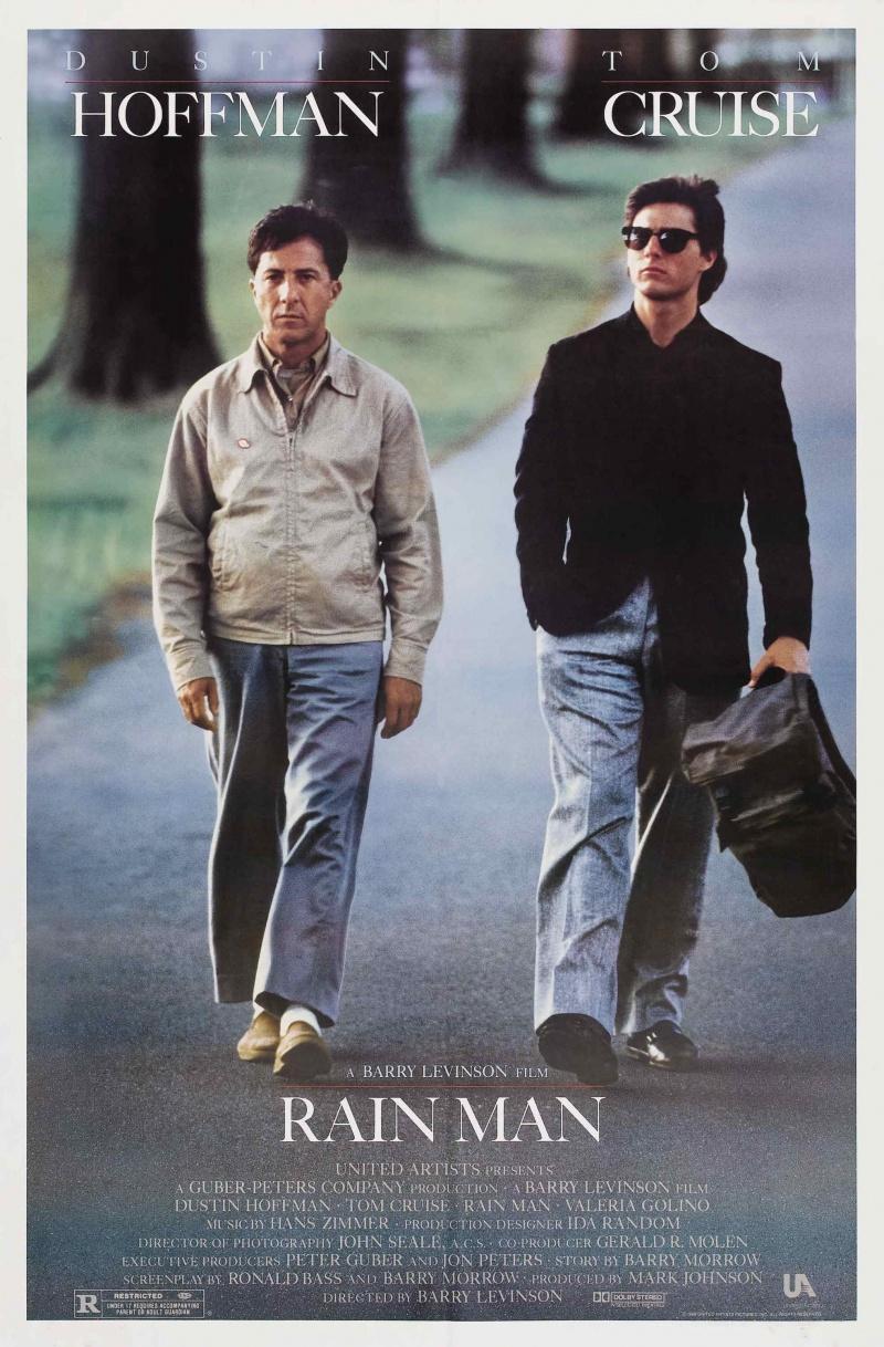 плакат фильма постер Человек дождя