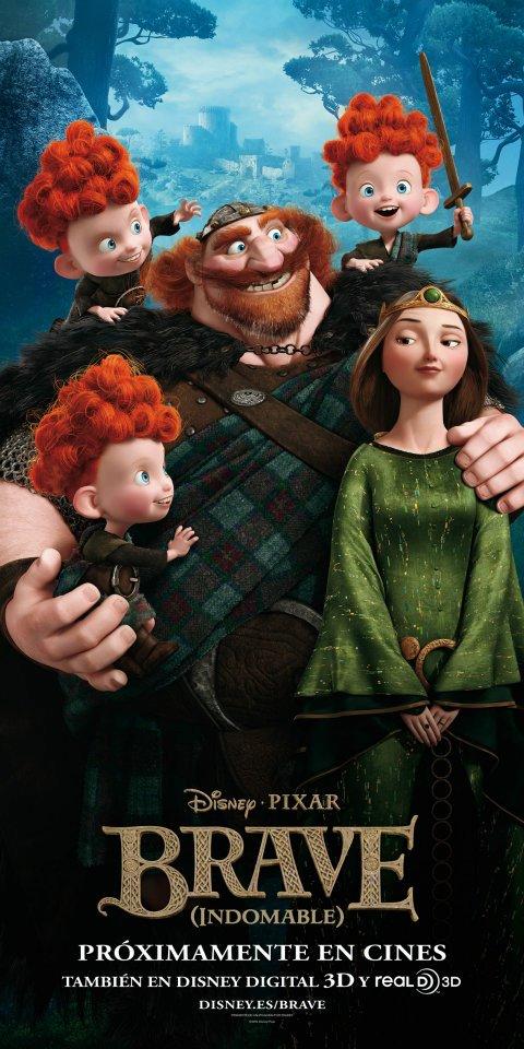 плакат фильма постер Храбрая сердцем