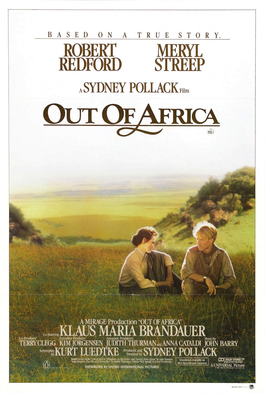 плакат фильма постер Из Африки