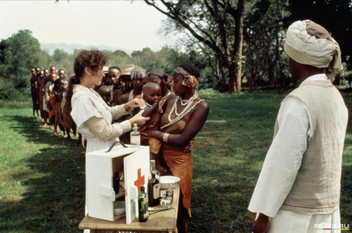 кадры из фильма Из Африки Мерил Стрип,