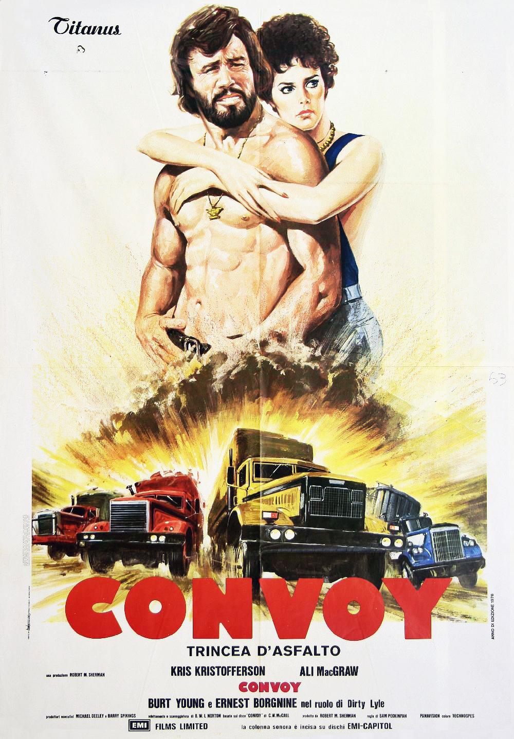 плакат фильма постер Конвой
