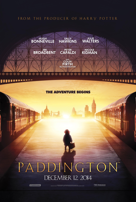 плакат фильма постер Приключения Паддингтона