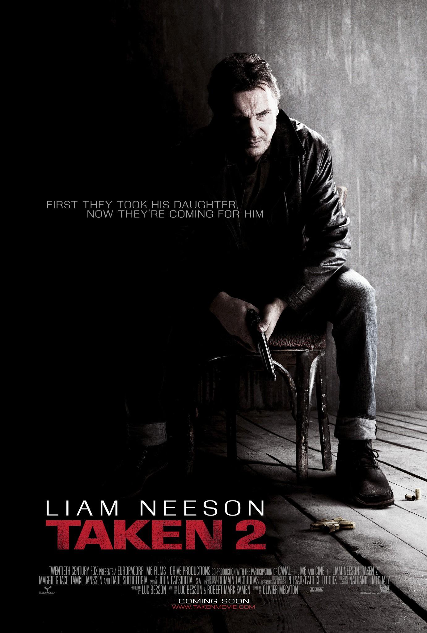 плакат фильма постер Заложница 2