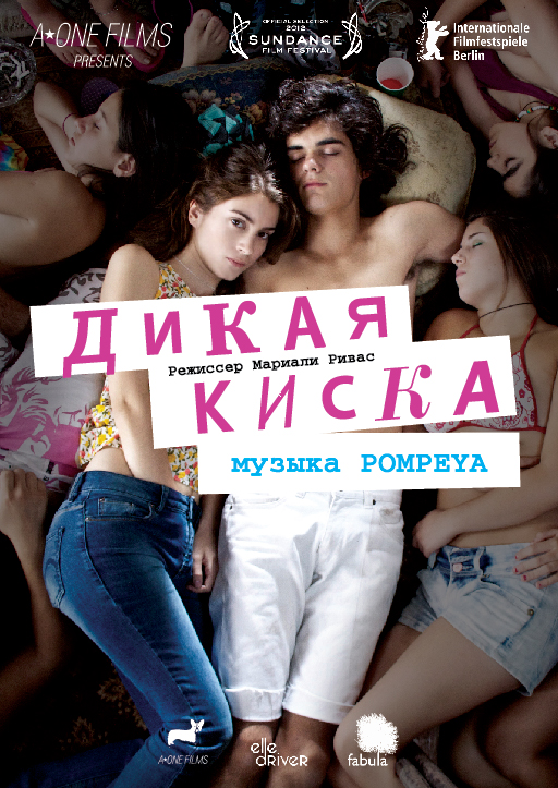плакат фильма тизер локализованные Дикая киска