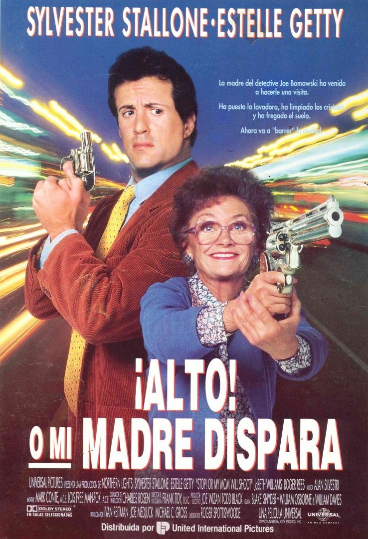 плакат фильма постер Стой! Или моя мама будет стрелять