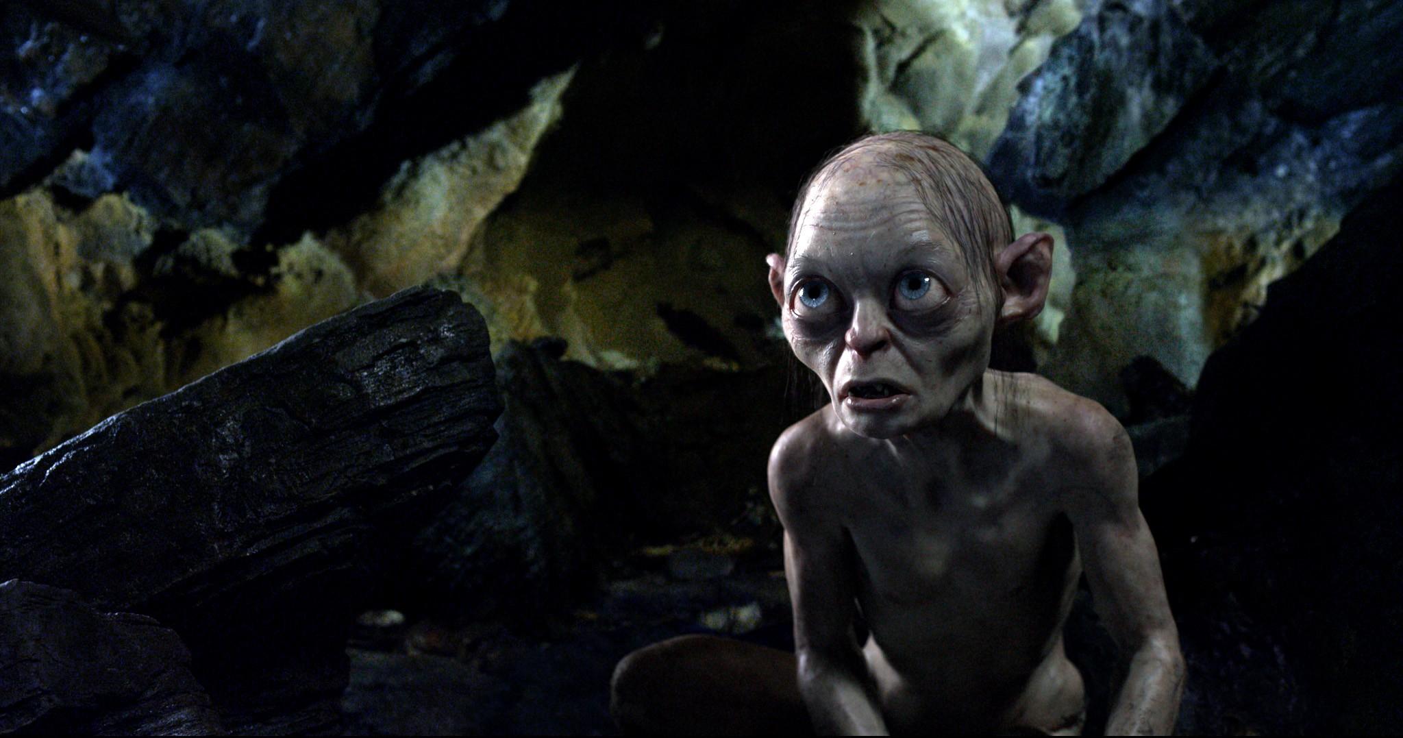 кадры из фильма Хоббит: Нежданное путешествие Энди Серкис,