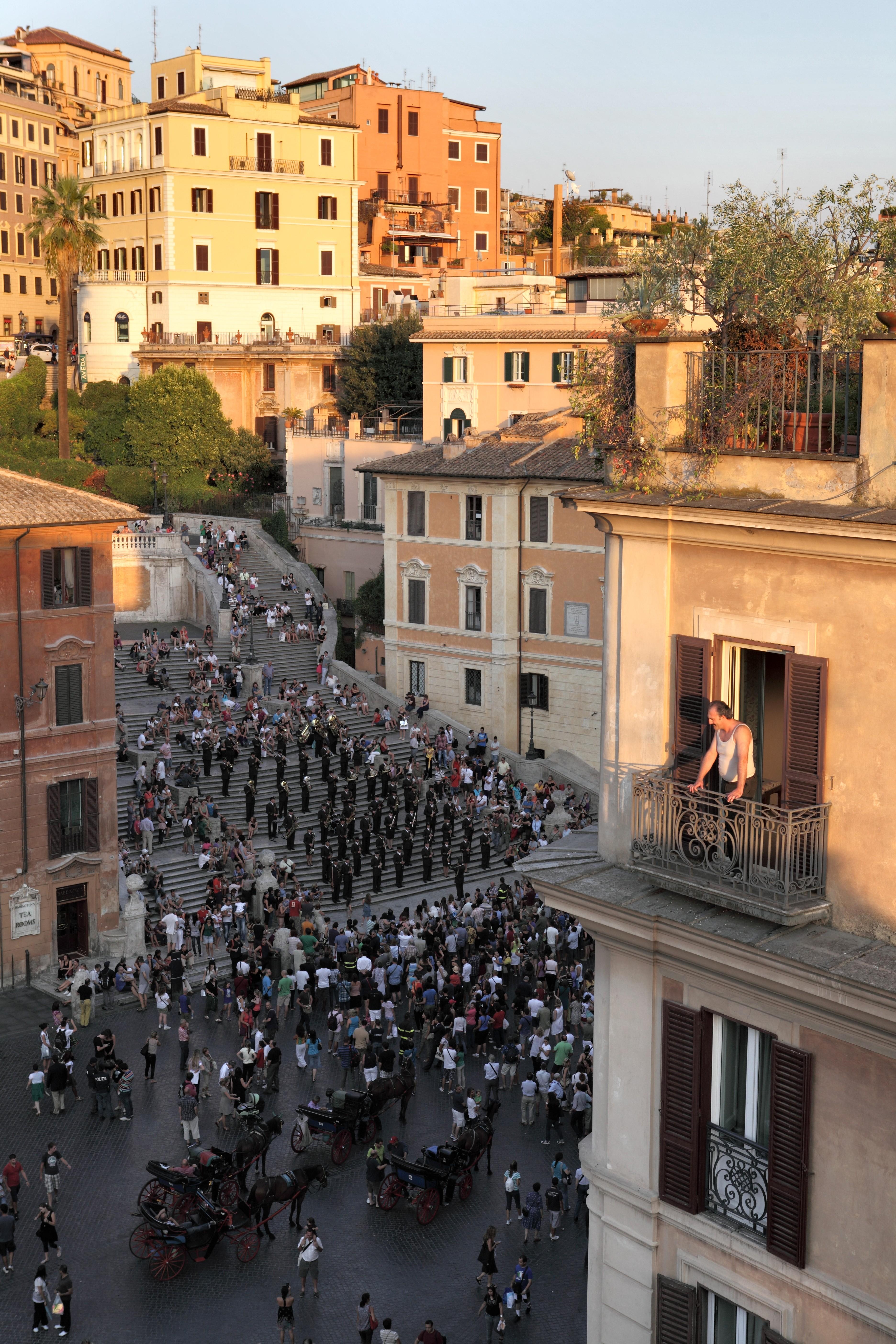 кадры из фильма Римские приключения