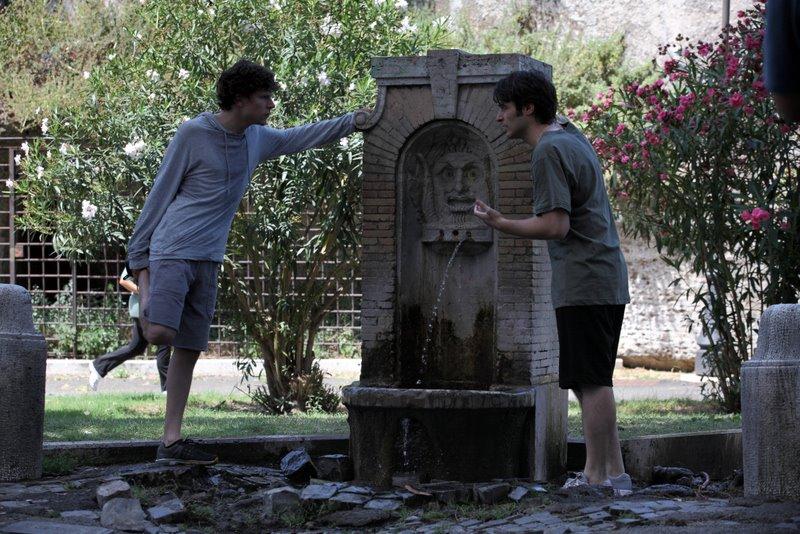 кадры из фильма Римские приключения Джесси Айзенберг,