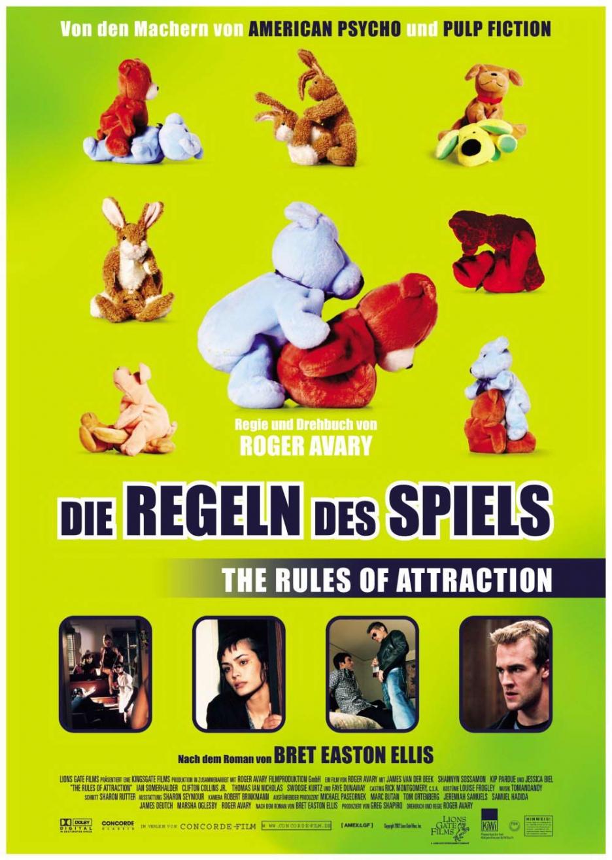 плакат фильма постер Правила секса