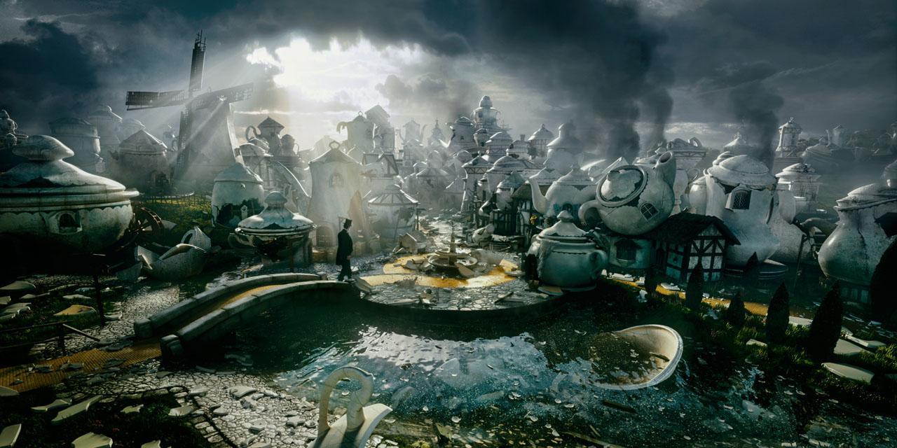 кадры из фильма Оз: Великий и Ужасный Джеймс Франко,