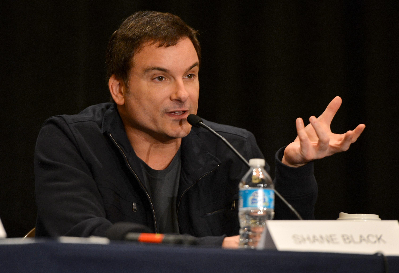 фотосессия «Железный человек 3» на Comic-Con 2012 Шейн Блэк,