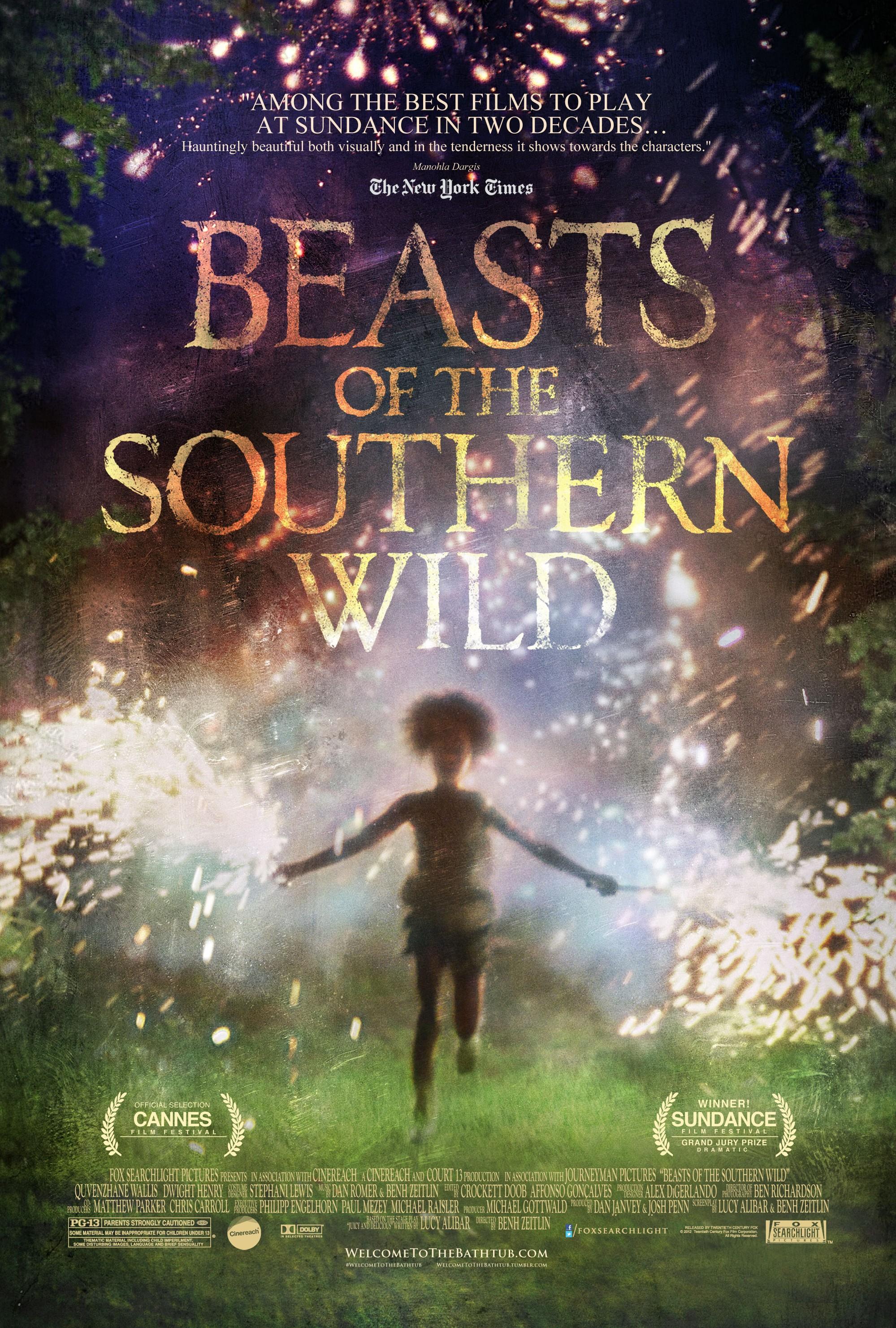 плакат фильма постер Звери дикого юга