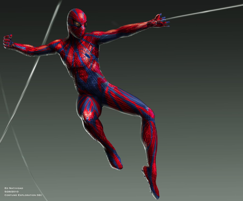концепт-арты Новый Человек-паук