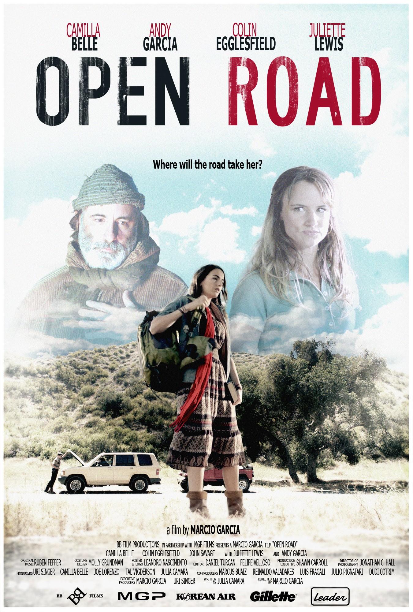 плакат фильма постер Открытая дорога*