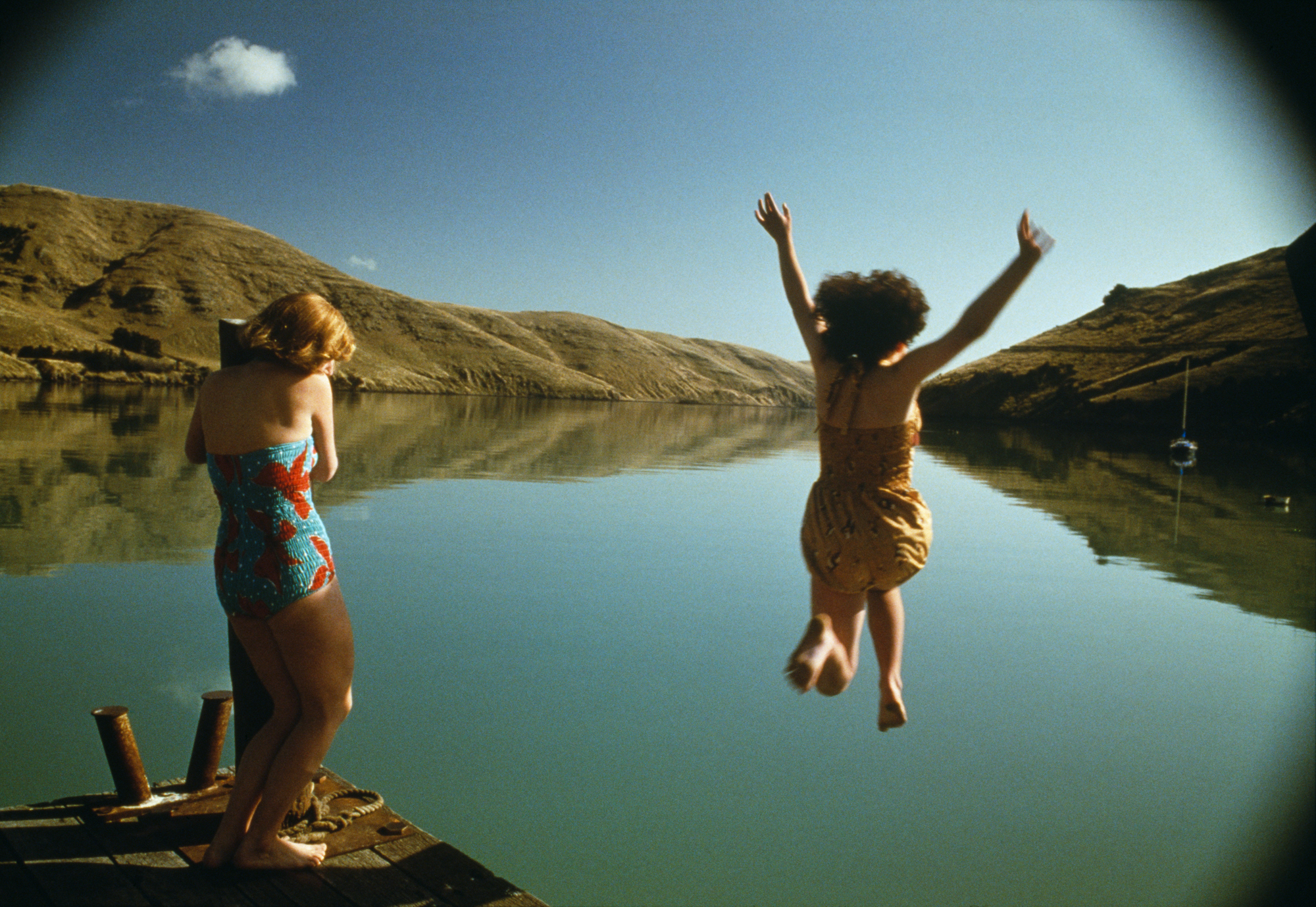 кадры из фильма Небесные создания Кейт Уинслет, Мелани Лински,