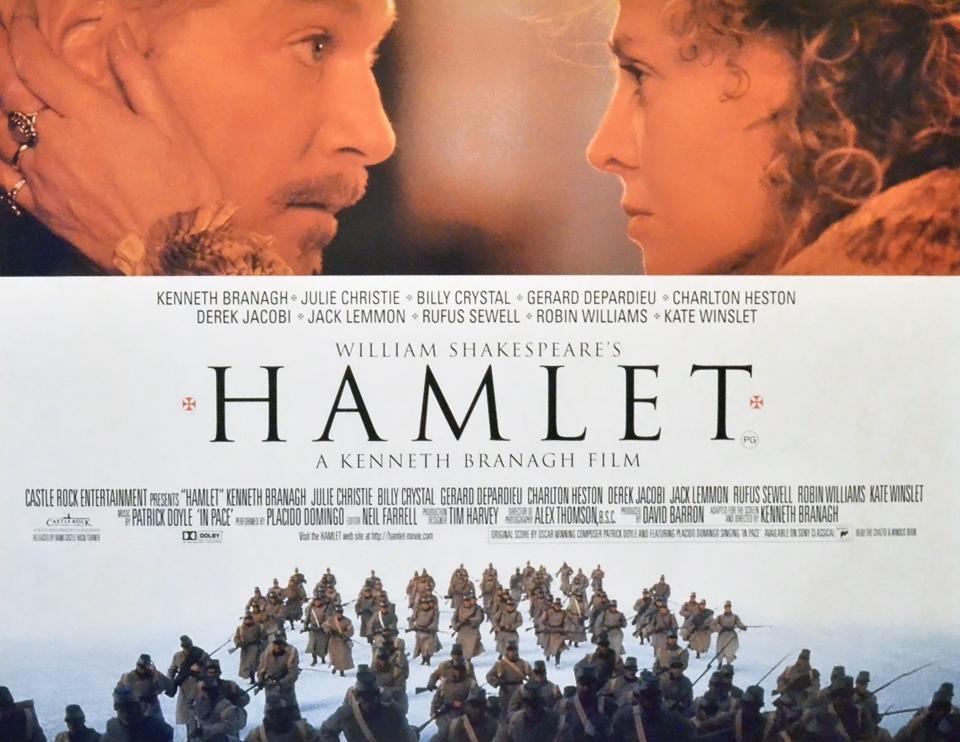 плакат фильма постер Гамлет