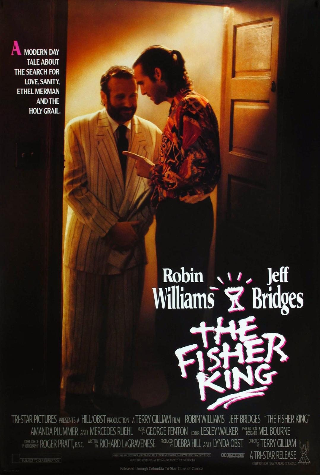 плакат фильма постер Король-Рыбак