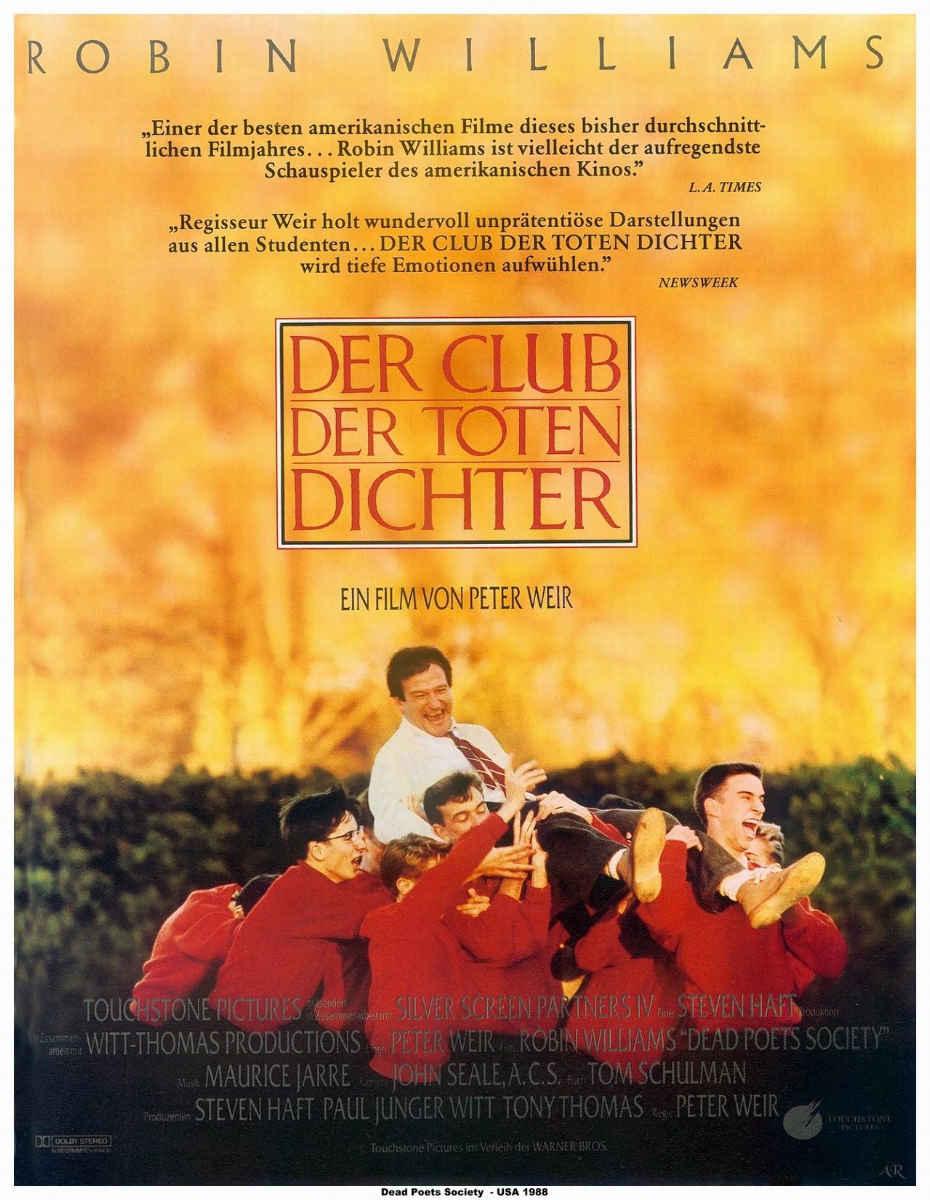 плакат фильма постер Общество мертвых поэтов