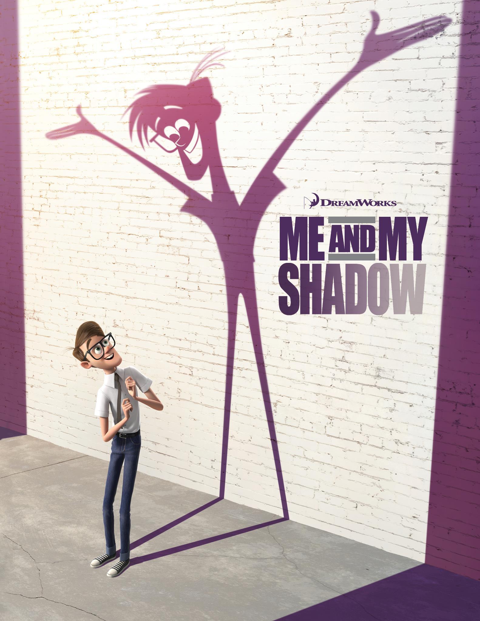 плакат фильма тизер Я и моя тень*
