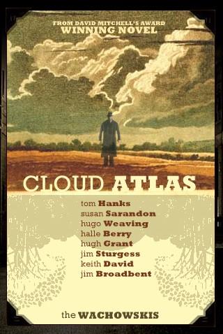 плакат фильма сейлс-арт Облачный атлас
